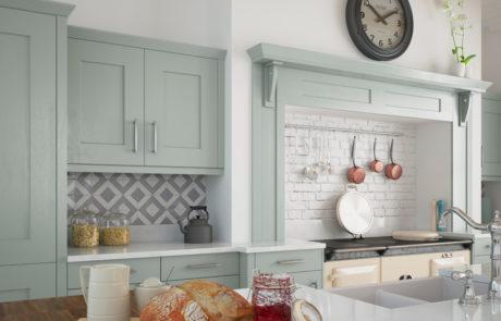 clonmel-knotty-oak-painted-light-blue-kitchen-cabinets-overmantle