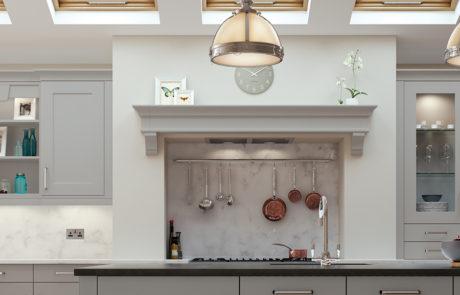 georgia-painted-light-grey-kitchen-mantle-shelf