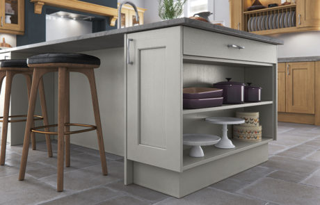 classic-traditional-country-wakefield-light-oak-painted-stone-kitchen-island-open-shelf-A